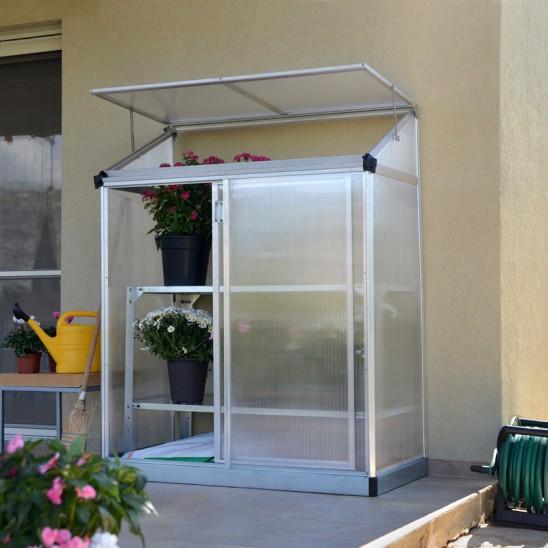 Växthus Multi Grow House Lean-To 0,8 kvm