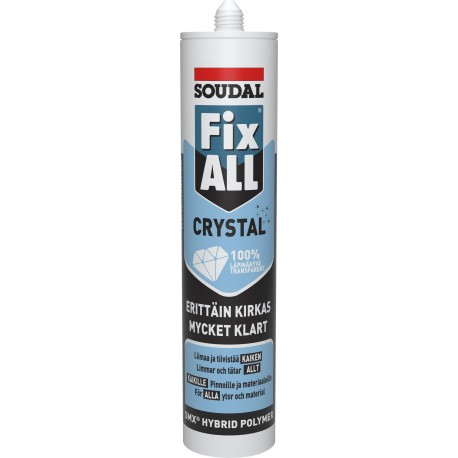 Fix All Crystal Monteringslim