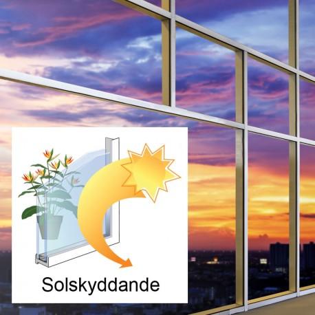 ISOLERGLAS D4-15 SOLSKYDDSGLAS